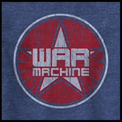 "Iron Man ""War Logo"" Men's T-shirt"