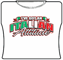 Italian Attitude Girls T-Shirt
