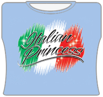 Italian Princess Girls T-Shirt