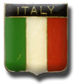 Italy Flag Lapel Pin
