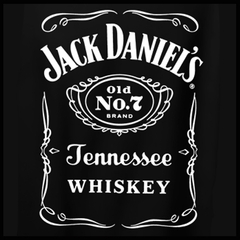 "Jack Daniel's Official ""Classic Label"" Men's T-Shirt"