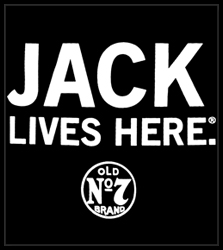 "Jack Daniel's Official ""Jack Lives Here"" Men's T-Shirt"