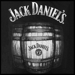 "Jack Daniel's Official ""JD Barrel"" Men's T-Shirt"