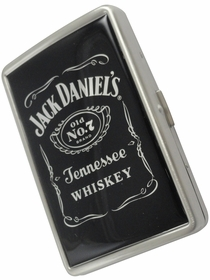 Jack Daniels Black Label Cigarette Case (100s & Regular Size)