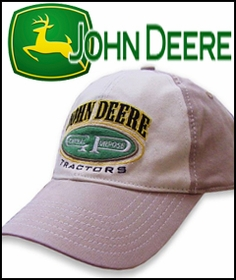 John Deere Appareal Baseball Hats