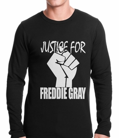 Justice For Freddy Gray Baltimore Protest Thermal Shirt