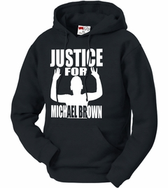 Justice For Michael Brown Adult Hoodie