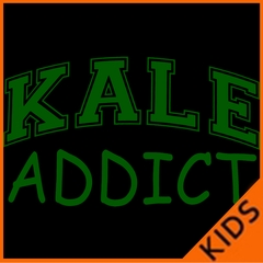 Kale Addict Kids T-shirt