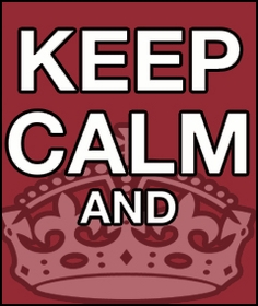 Keep Calm T-shirts, Apparel and Accessories