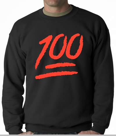 Keep It 100 Adult Crewneck<!-- Click to Enlarge-->