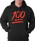 Keep It 100 Adult Hoodie