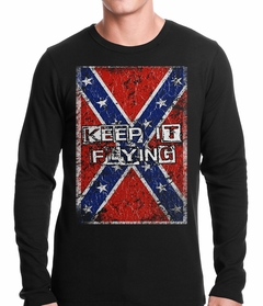 Keep It Flying Confederate Flag Thermal Shirt