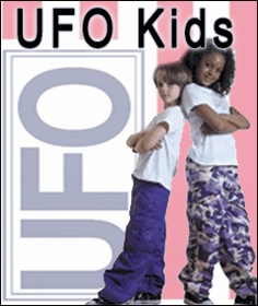 Kids UFO Rave and Dance Pants