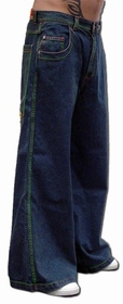 Kikwear Jeans - Kikwear Old Skool 32 inch  Bottom WideLeg Pants