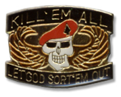 Kill'em All Lapel Pin