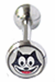 Kitty Cat Tongue Barbell