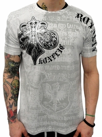 Konflic Winged Royalty Mens T-shirt (White)