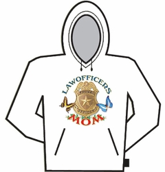 Law Officers Mom Hoodie