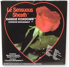Le' Sensuous Sheath Candie Condom