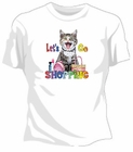 Let's Go Shopping Girls T-Shirt