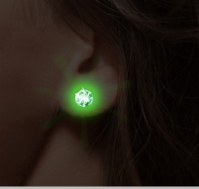 Light up Earrings -  Pair of LED light up Pair of Earrings<!-- Click to Enlarge-->