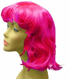 Long Hair Costume Wig (Hot Pink)