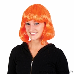 Long Hair Costume Wig (Orange)