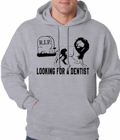 Looking for a Dentist Adult Hoodie