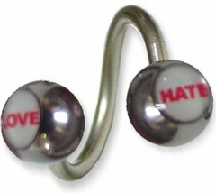 Love-Hate Twisted Jewelry