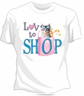 Love To Shop Girls T-Shirt