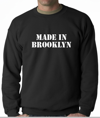 Made In Brooklyn Adult Crewneck<!-- Click to Enlarge-->