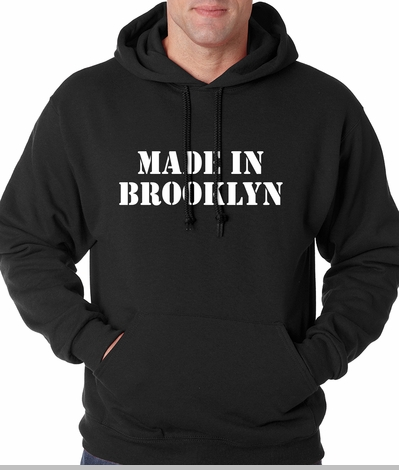 Made In Brooklyn Adult Hoodie<!-- Click to Enlarge-->