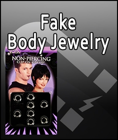 Magnetic Earrings and Fake Non Piercing Body Jewelry