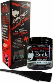 Manic Panic AMPLIFIED Hair Dye - Emily The Strange Hair Coloring Kit (Purrr-Ple )
