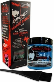 Manic Panic AMPLIFIED Hair Dye - Emily The Strange Hair Coloring Kit  (U Blue It!)