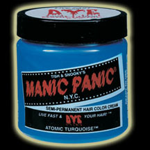 Manic Panic Hair Dye - Atomic Turquoise Color
