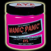 Manic Panic Hair Dye - Hot Hot Pink Hair Color