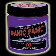 Manic Panic Hair Dye - Ultra Violet Hair Color