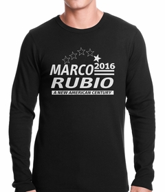 Marco Rubio Presidential Campaign 2016 Thermal Shirt