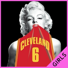 Marilyn Basketball Jersey #6 Girl's T-Shirt