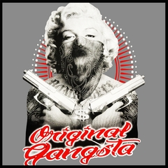 "Marilyn Monroe ""Original Gangster"" Mens T-shirt"