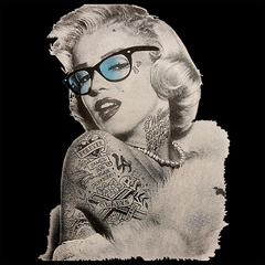 Marilyn Monroe Retro Tattoo Men's T-Shirt