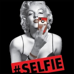 Marilyn Monroe #SELFIE Men's T-Shirt