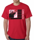 Martin Luther King Jr Dream Mens T-shirt (Red)