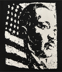 Martin Luther King Vintage Portrait  Men's T-shirt