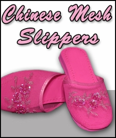 Mesh Chinese Slippers for Weddings and Casual Wear