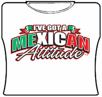 Mexican Attitude Girls T-Shirt