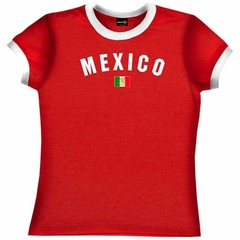 Mexico Girls Soccer T-Shirt
