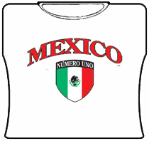 Mexico Numero Uno Girls T-Shirt
