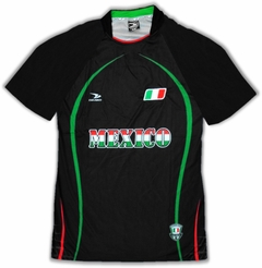 Mexico PRO Soccer Jersey :: PRO Futball Jersey (Black)